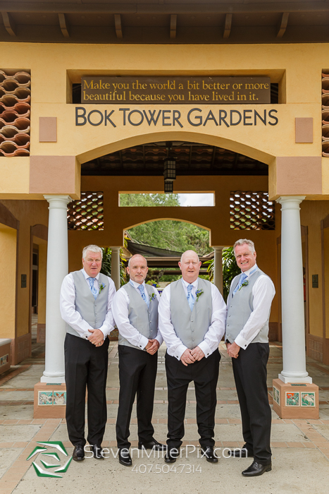 Bok Tower Gardens Intimate Wedding Photographers