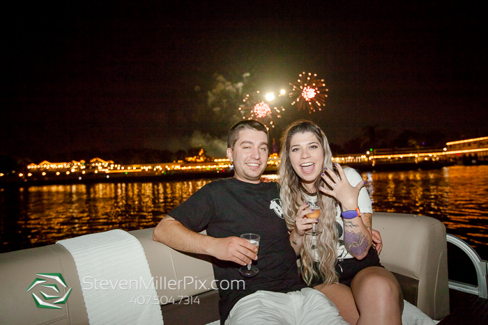 Engagement Proposal at Walt Disney World Wilderness Lodge