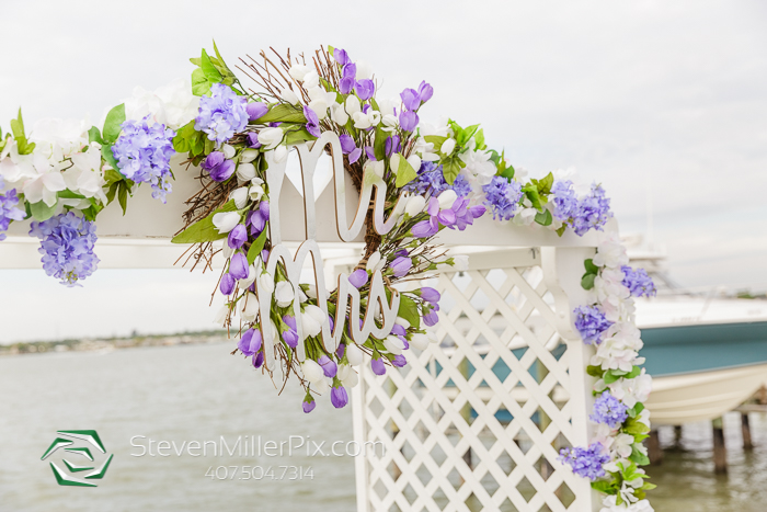 Intimate Intracoastal Backyard Wedding | Tampa Wedding Photographer