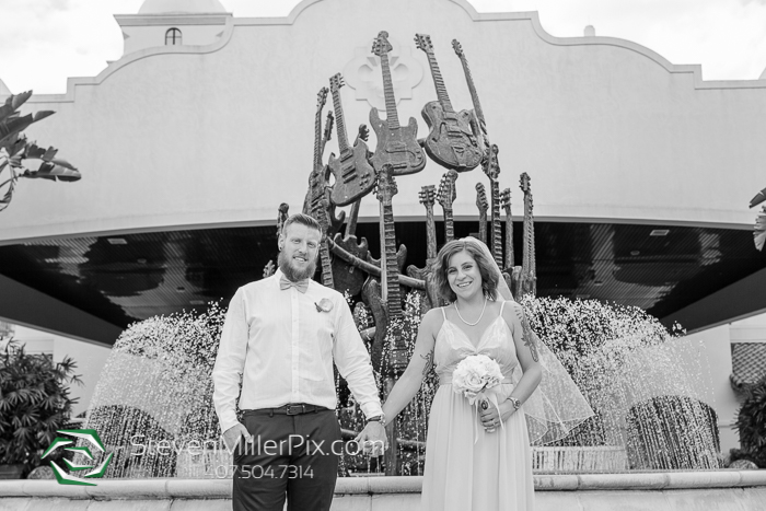 Intimate Orlando Wedding at the Hard Rock Hote