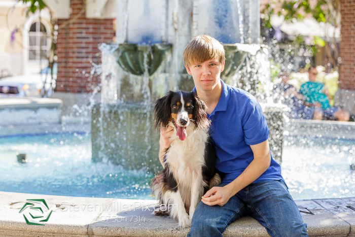 Winter Garden Senior Portrait Photographers