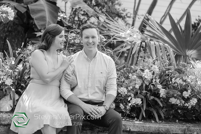 Engagement Photographer Leu Gardens Orlando
