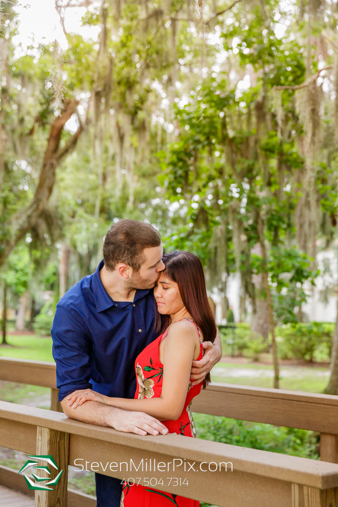 Kraft Azalea Gardens | Winter Park Engagement Session