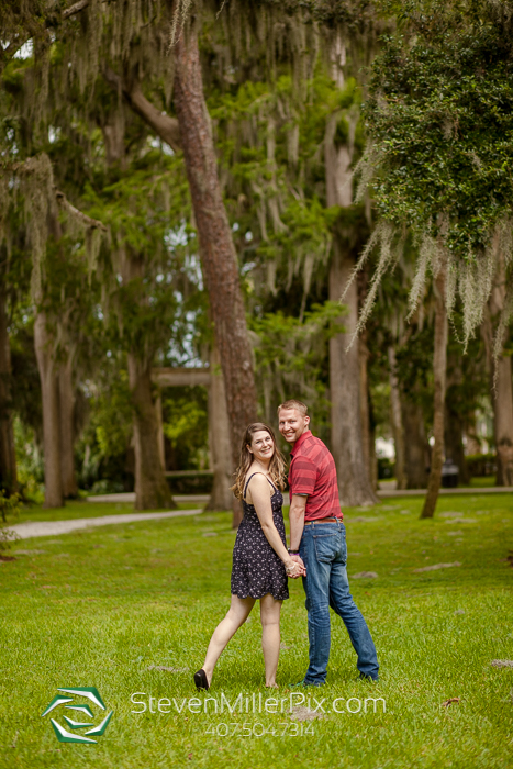 Winter Park Engagement Session Kraft Azalea Gardens