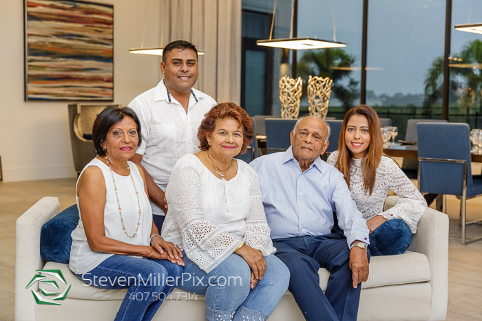 Kissimmee Family Portraits at Reunion Resort