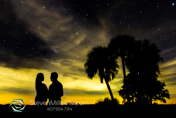 Kissimmee Prairie Night Sky Maternity Photos