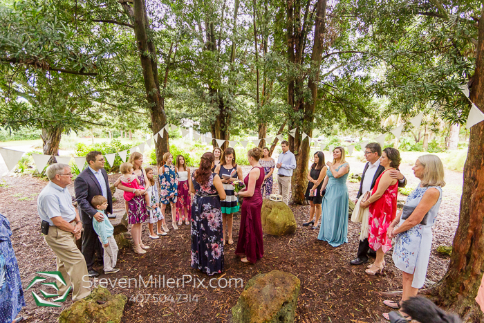 Mead Botanical Garden Intimate Same-Sex Wedding