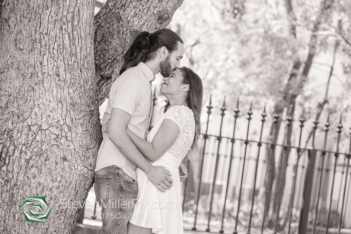 Lake Eola Downtown Orlando Engagement Photographers