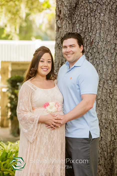Leu Gardens Orlando Maternity Photography