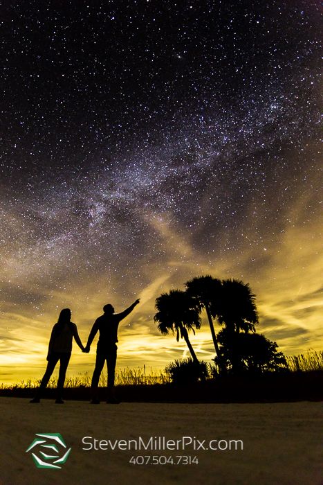 Night Sky Wedding Photographers Florida State Parks