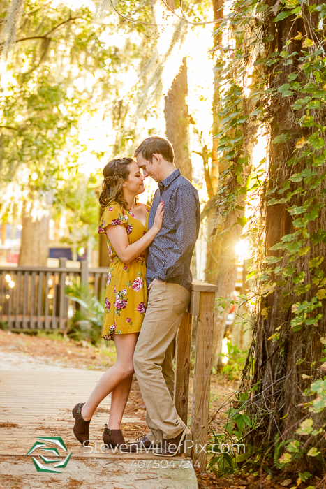 Engagement Photographers at Kraft Azalea Gardens
