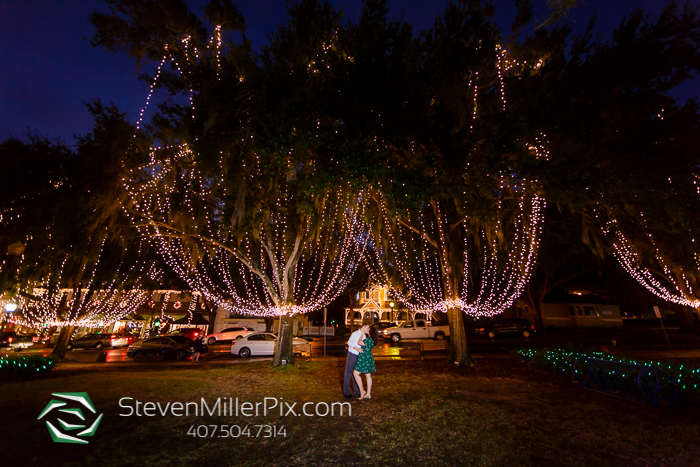 Engagement Photography Session at Downtown Mt. Dora