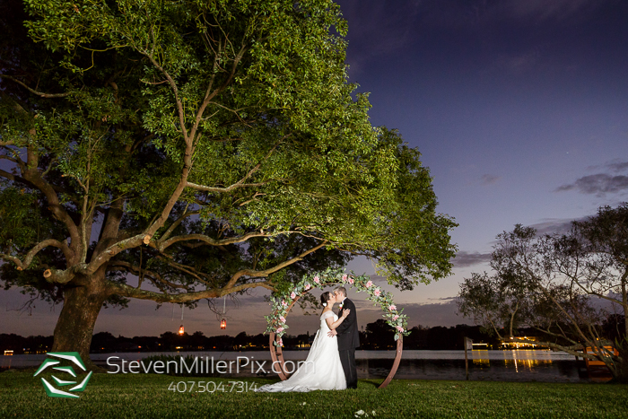Intimate Altamonte Springs Backyard Wedding