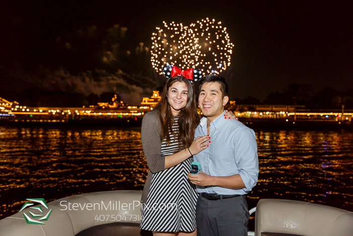 Fireworks Engagement Proposal at Walt Disney World Contemporary Resort
