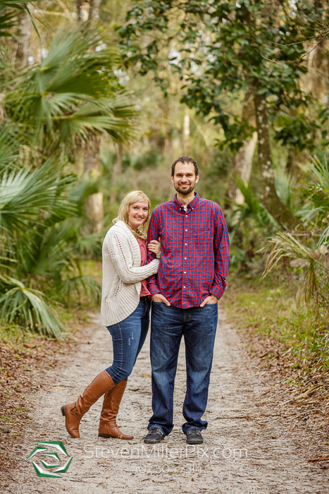 Rock Springs Kelly Park Engagement Photographer