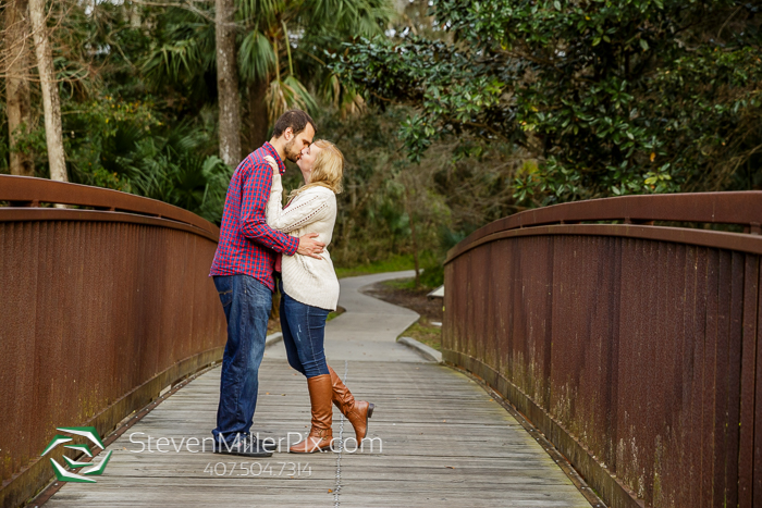 Rock Springs Kelly Park Engagement Photographer