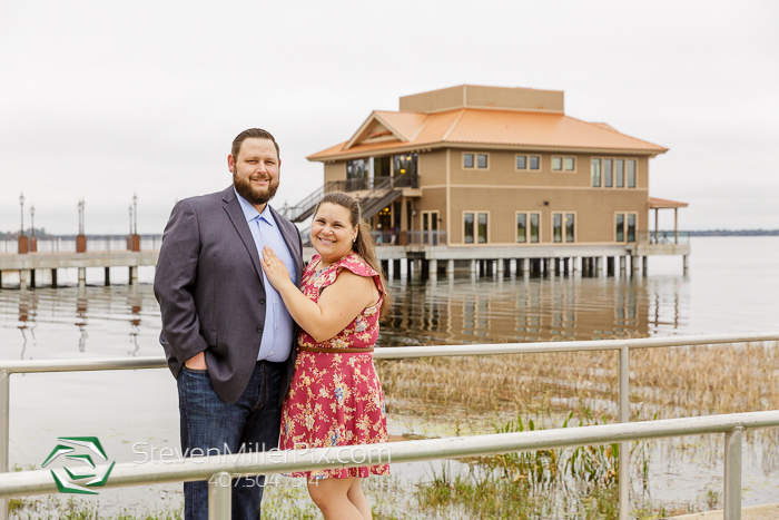Tavares Pavilion on the Lake Engagement Photographers