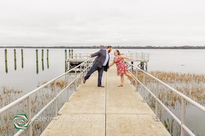 Tavares Pavilion on the Lake Engagement Photographers