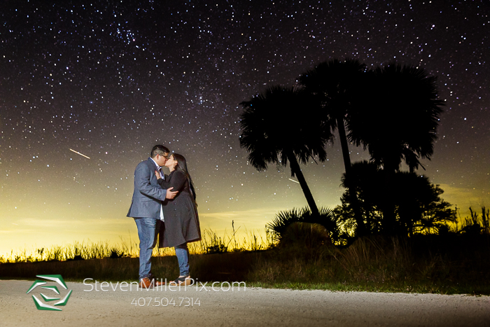 Night Sky Kissimmee Prairie Preserve State Park Engagement Session