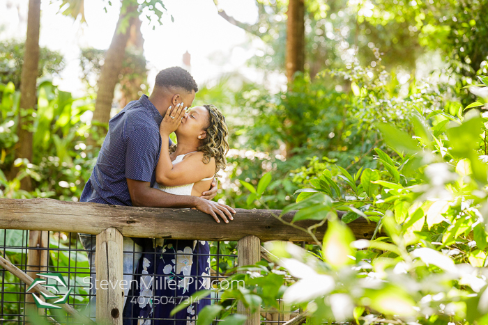 Downtown Orlando Dickson Azalea Park Engagement Photos