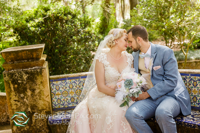 Intimate Wedding Photographers at Bok Tower Gardens