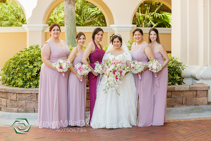 Beautiful Weddings at Rosen Shingle Creek Resort