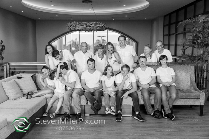 Encore Resort at Reunion Family Portraits