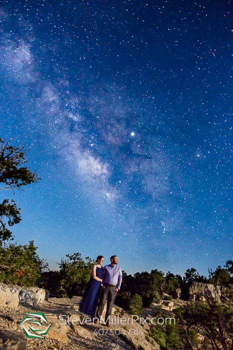 Arizona Dark Sky Engagement Photographer Steven Miller