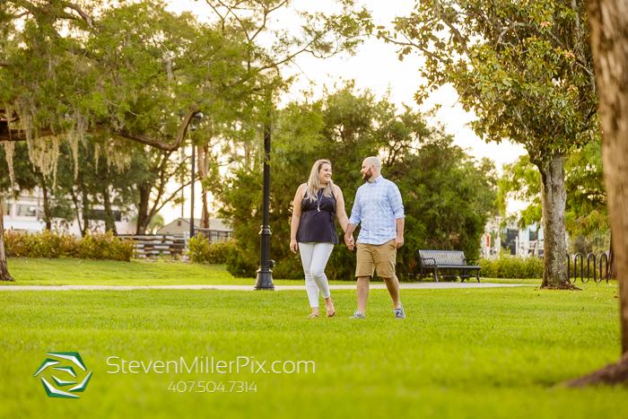 Park Avenue Winter Park Engagement Session