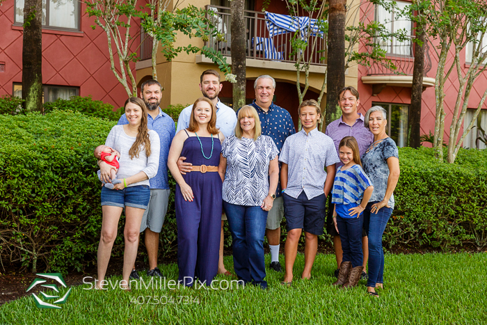 Family Portraits at Wyndham Bonnet Creek Resort