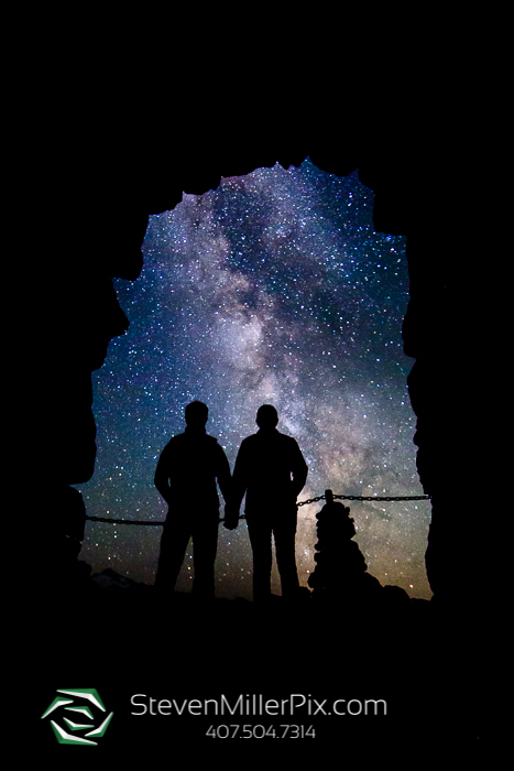 Dark Sky Engagement Photographers Oregon