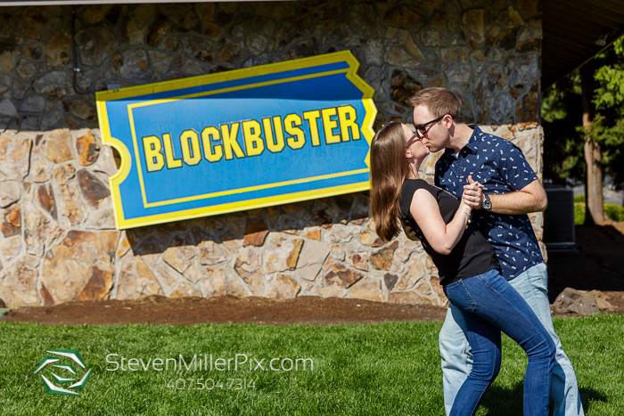 Bend Oregon Blockbuster Engagement Photos