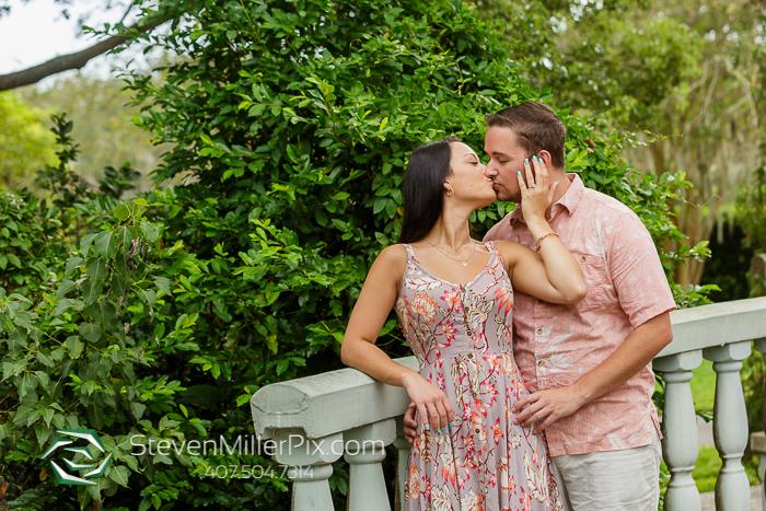 Harry P. Leu Gardens Engagement Photographers