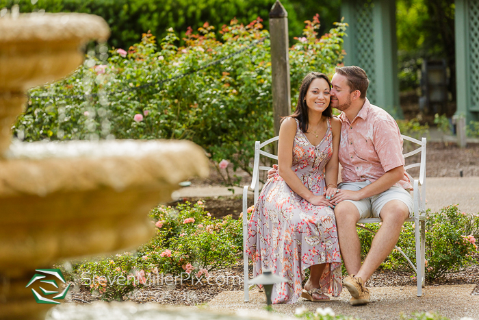 Harry P. Leu Gardens Engagement Photographers