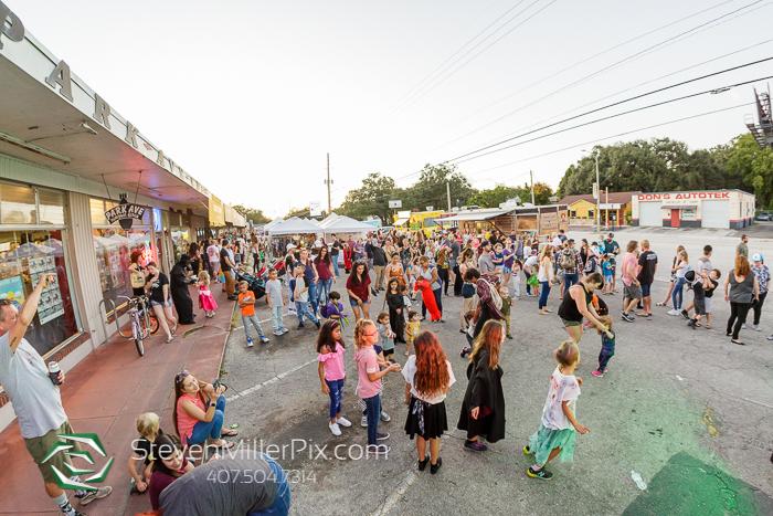 Audubon Park Zombietoberfest Orlando Photographer