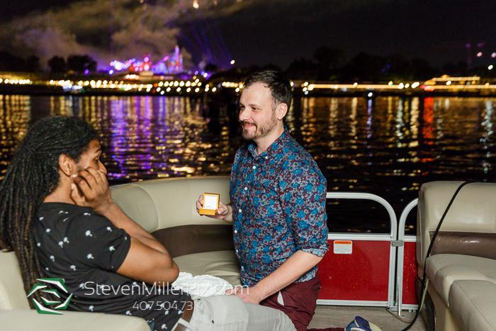 Seven Seas Lagoon Surprise Disney Halloween Fireworks Proposal