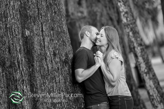 Winter Park Engagement Photographers Kraft Azalea Gardens