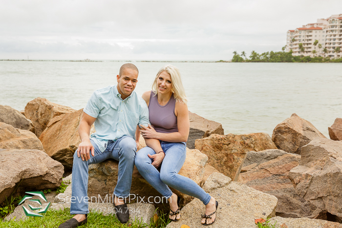 Downtown Miami Florida Engagement Photographers
