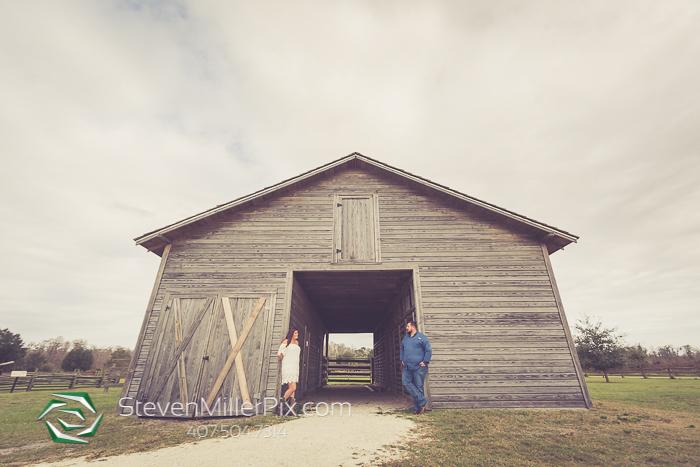 Pioneer Village at Shingle Creek Engagement Photographers