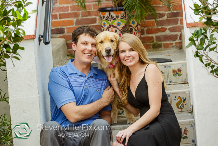 Winter Park Fur Baby Engagement Session Photographers