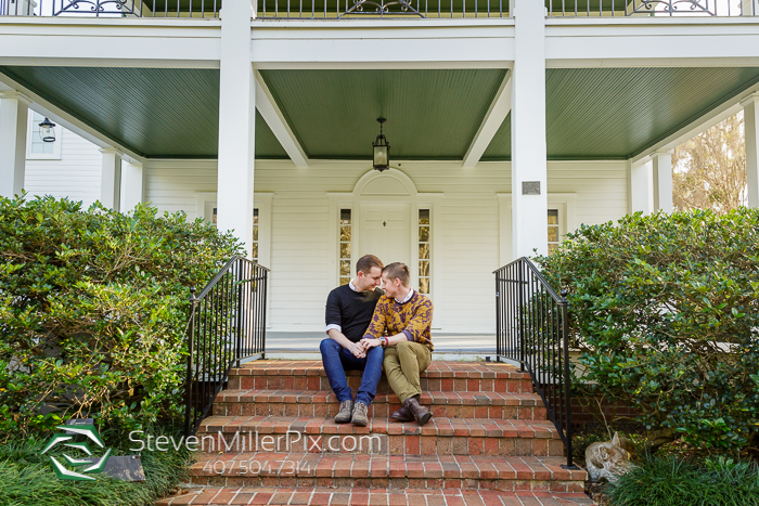 Engagement Photographers Harry P. Leu Gardens
