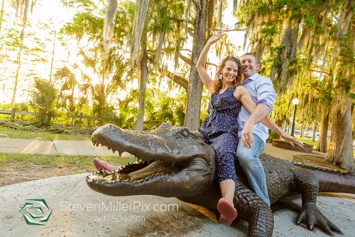 Mount Dora Orlando Engagement Photographers