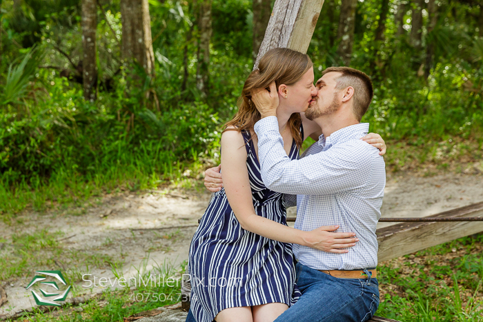 Blue Spring State Park Engagement Photos