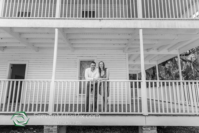 Blue Spring State Park Engagement Photos