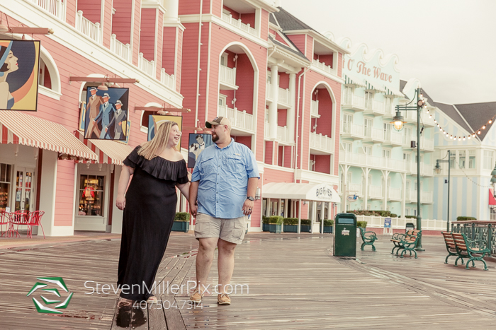 Disney Portrait Photographers at Boardwalk