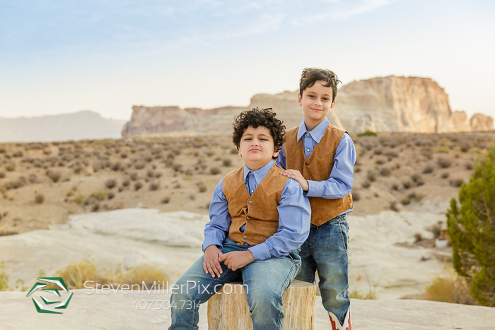 Kids Pictures in Canyon Point Utah