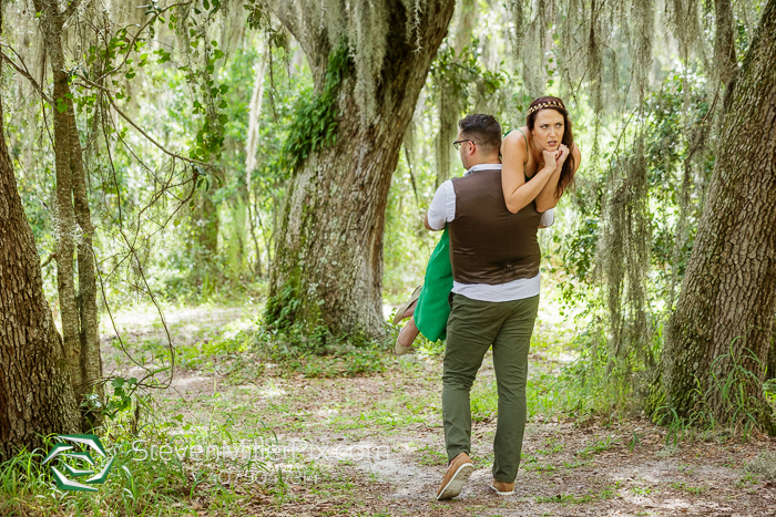 Engagement Photos Lake Louisa State Park