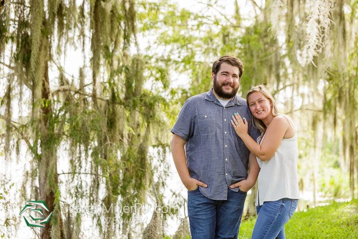 Loch Haven Park Orlando Engagement Pictures