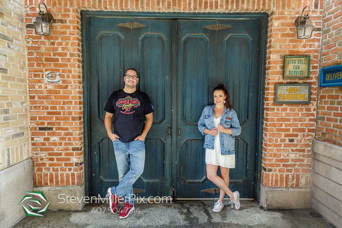 Universal Orlando Engagement Photographer