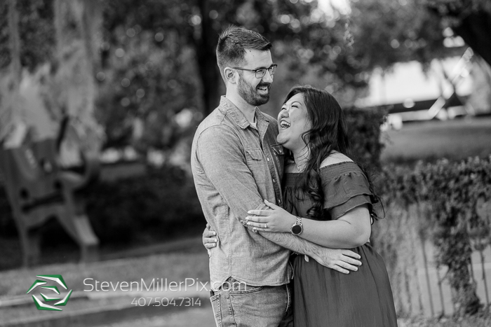 Loch Haven Park Engagement Pictures